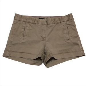 J. Crew Stretch Khaki Chino Shorts